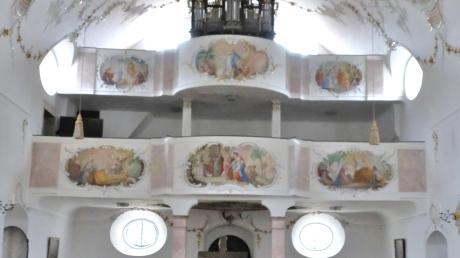 Die Bayerische Landesstiftung unterstützt die Orgelrestaurierung in der Wallfahrtskirche Buggenhofen mit 3400 Euro.
