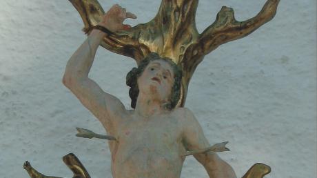 Der heilige Sebastian ist der Schutzpatron der Bissinger Sebastiani-Bruderschaft.
