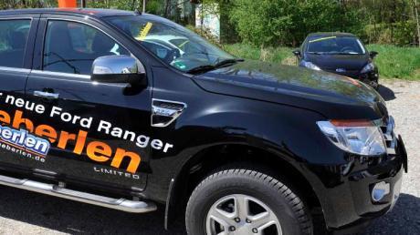 Ein solcher Ford Ranger (nicht das abgebildete Fahrzeug!) wurde vom Hof eines Wertinger Autohauses geklaut.
