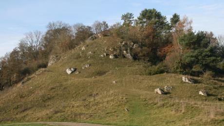 Wo heute auf steilem Fels hohe Bäume wachsen, erhob sich einst die Hohenburg stolz über dem Talgrund.
