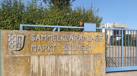 Baumaßnahmen stehen auch an der Kläranlage Bissingen an.