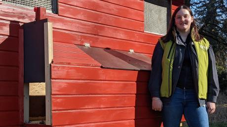 Nicky Gery hat für das Mooseum in Bächingen einen Hühnerstall gebaut.