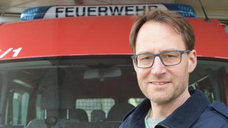 Für die Feuerwehr im Einsatz: Bastian Beck ist nicht nur aktiver Feuerwehrmann und First Responder, er leitet zudem die Psychosoziale Notfallversorgung für Einsatzkräfte im Landkreis.