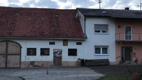 Das ist ein aktuelles Bild von Teilen des Anwesens in Unterglauheim.
