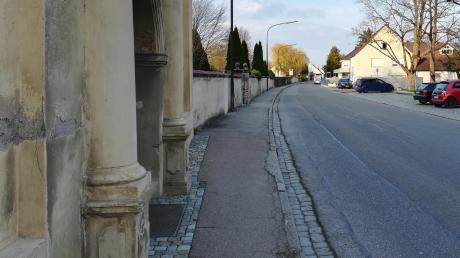 Die Johannesstraße in Lauingen wird im Juni saniert.