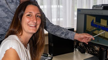 Michael und Ann-Kathrin Metzger sind die neuen Inhaber von Schmiedeeisen Kapfer und führen den Betrieb in fünfter Generation weiter.