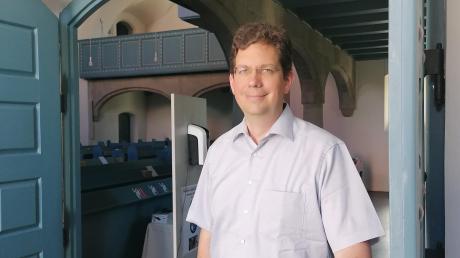 Pfarrer Frank Bienk war 15 Jahre im Landkreis Dillingen tätig. Seit wenigen Monaten ist der neue evangelische Pfarrer in Günzburg. Wegen Kirchenasyls stand der von der Dillinger Amtsgericht. Ein Urteil ist nicht gefallen.