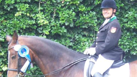 Michael Wimme, Handicap-Reiter, mit seinem Pferd Alcazar. Gemeinsam haben Mensch und Tier schon viele Erfolge gefeiert.