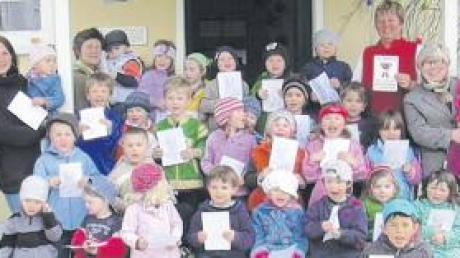 """""""Bärenstarker Kindergarten"""" – so darf sich die Einrichtung """"Am Holderstock"""" in Münster nun nennen."""