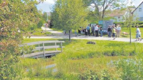 """Ein kleines Naturparadies: der Waldpark in Huisheim. Am Sonntag kamen an die 3000 Besucher zu einem Fest anlässlich des """"Jahres der Wälder""""."""