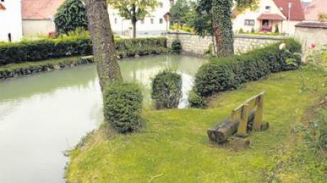Das Umfeld des Schlosses in Gosheim soll neu gestaltet werden.