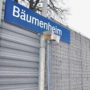Am Bahnhof in Bäumenheim haben sich Jugendliche großer Gefahr ausgesetzt.