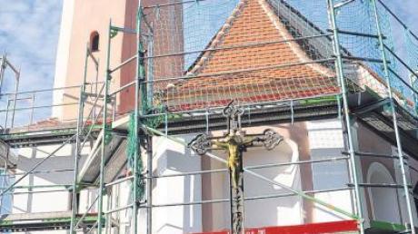 Die Marienkapelle in Fünfstetten wird mit einem Kostenaufwand von rund 400000 Euro saniert.
