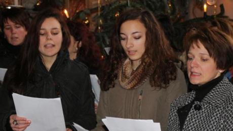 Beim Konzert in der Kirche Sankt Gallus wirkten auch die Blossenauer Frauen mit ihren Liedern mit.