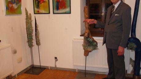 Kunst über drei Ebenen im Färbertörl: Die Donauwörther Kunstfreunde um Peter Kastner laden ein zu ihrer Jahresausstellung und geben einen Überblick über zeitgenössisches Schaffen.