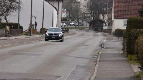 Fahrbahn, Gehsteige und Leitungen werden in Gosheim erneuert.