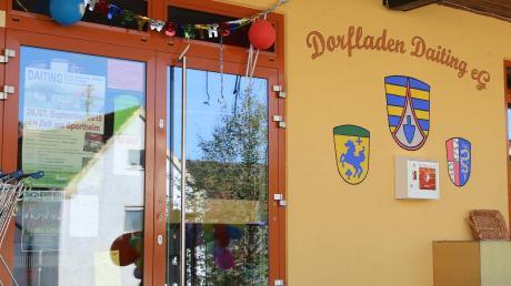 Im Dorfladen Daiting laufen die Geschäfte gut. Der Vorstand hofft, dass die Bürger weiterhin dort einkaufen.