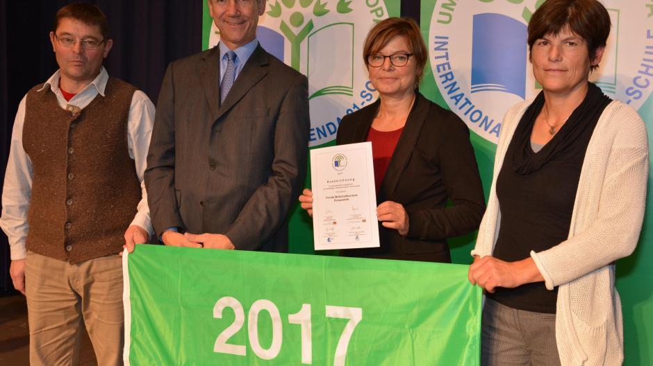 Engagement Pws Erhält Umwelt Auszeichnung Nachrichten Donauwörth