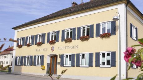 Der Gemeinderat in Mertingen tagt heute nicht.