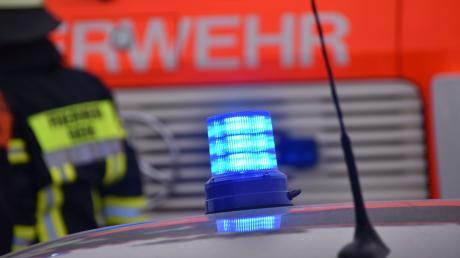 Im Nachbarlandkreis geriet in der Nähe von Langenaltheim eine Lagerhalle in Brand.