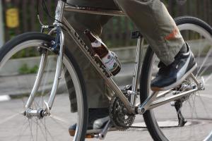 Alkoholisiert mit dem Fahrrad unterwegs