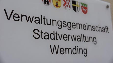 Für die Stadt Wemding gibt es bei der Kommunalwahl 2020 nur einen Bürgermeister-Kandidaten.