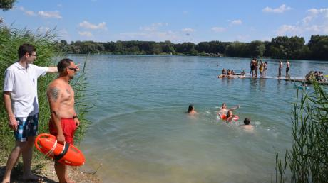 Die Wasserwacht berät derzeit viele Kommunen, wie sie ihre Badestellen sicherer machen können.