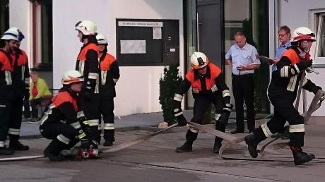 Voller Einsatz wurde bei der Leistungsprüfung in Münster gezeigt.  <b>Foto: Stangl</b>