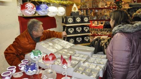 """Die """"Bäuerliche Weihnacht"""" auf der Bäldleschwaige ist eröffnet. Programm, Öffnungszeiten und Termine des Weihnachtsmarktes in Tapfheim: hier."""