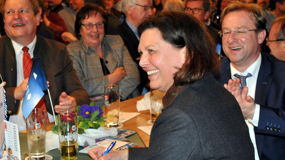 look for professional sale large discount Harburg-Mauren: Ilse Aigner: Sanfte Töne beim politischen ...