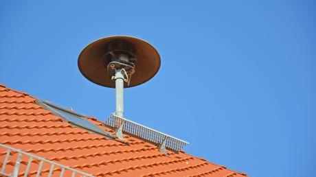 Die Sirene in Westheim muss an ihrem bisherigen Standort abgebaut werden.