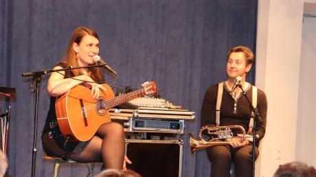 Ein zauberhaftes Duo: Josefin Melchior und Hansi Zeller.