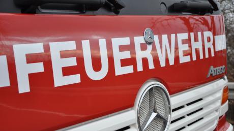 Die Feuerwehr in Monheim war am Samstag im Einsatz.
