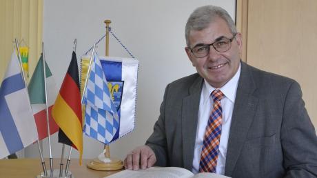 Oberndorfs Bürgermeister Hubert Eberle wird nicht mehr antreten.