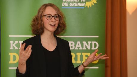 Die Landtagsabgeordnete Eva Lettenbauer ist neue Chefin der bayerischen Grünen. Zusammen mit Eike Hallitzky soll sie die Partei in die Kommunalwahl im kommenden Jahr führen.