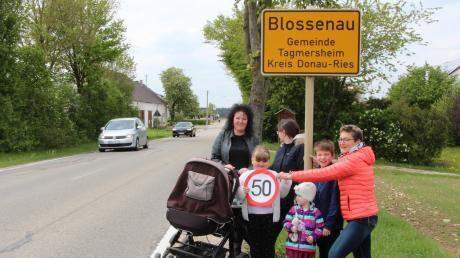 Die Blossenauer bekommen eine Geschwindigkeitsmessanlage bei ihrer Ortsdurchfahrt. Das hat jetzt der Gemeinderat beschlossen.