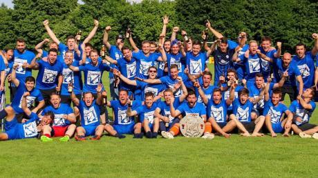 Der Aufstieg der Fußballer in die Kreisliga Ost 2017 gehörte zu den Höhepunkten in der 50-jährigen Vereinsgeschichte des SV Feldheim. Am Wochenende wird das Jubiläum gefeiert.