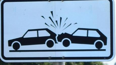 In Kissingist am Dienstag ein Auffahrunfall passiert.