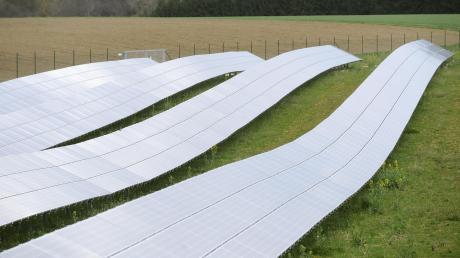 Eine Freiflächen-Fotovoltaikanlage möchte ein Landwirt nahe Nußbühl verwirklichen.