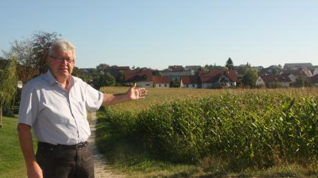 Buchdorf Bürgermeister Georg Vellinger und sein erklärter Wunsch, das Amt weiter auszuführen, sorgt für Ärger.