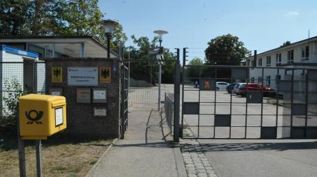 Seit 1. August 2018 ist das Ankerzentrum in der ehemaligen Alfred-Delp-Kaserne in Donauwörth in Betrieb. An Weihnachten 2019 soll Schluss sein.
