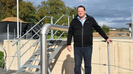 Josef Kraus sieht seinen Biogas-Betrieb in Zirgesheim diskreditiert. Das Votum für Erdgas im neuen Quartier hält er für wenig nachhaltig.