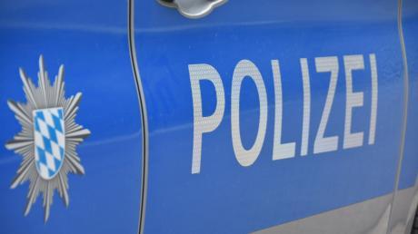 In Mertingen war am Freitag ein größeres Polizeiaufgebot im Einsatz.