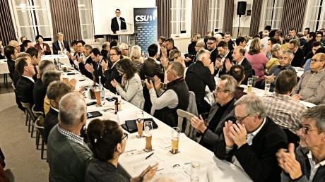 Am Wochenende nominierten die Christsozialen im Landkreis ihre Kreistagskandidaten.