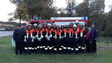 Die Aktiven der Freiwilligen Feuerwehr Itzing haben die Leistungsprüfung erfolgreich absolviert.
