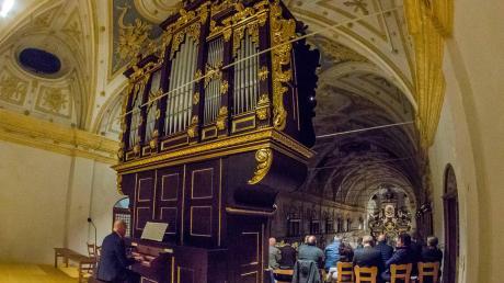 Die Prescher-Orgel in Niederschönenfeld ist klanglich wie optisch wieder ein Schmuckstück. Sie zu restaurieren war ein großer Kraftakt.