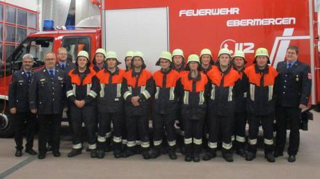 Zwei Gruppen der Freiwilligen Feuerwehr Ebermergen haben die Leistungsprüfung absolviert.