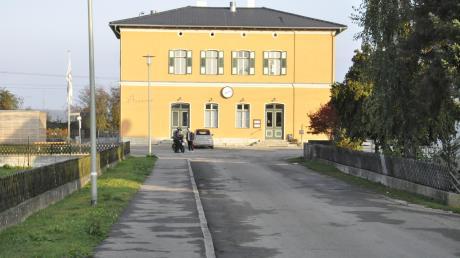Der Bereich um den Tapfheimer Bahnhof soll neu gestaltet und damit aufgewertet werden.