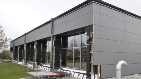 Das ist das größte Bauprojekt, das die Gemeinde Tapfheim in den vergangene Jahren stemmen musste: die Sporthalle.