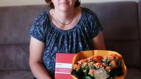 Spendete ihre Stammzellen: Annett Reithmeier.